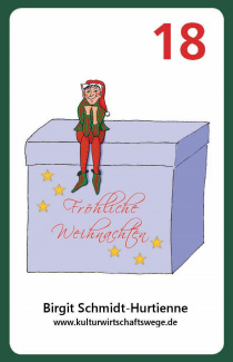 Der KuWiWege-Wichtel im Weihnachtswichtel-Roulette von spieltz