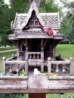 Geisterhaus Sala-Thai-I-Tempel Bad Homburg | Foto: Birgit Schmidt-Hurtienne