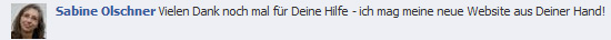 Kommentar Sabine Olschner