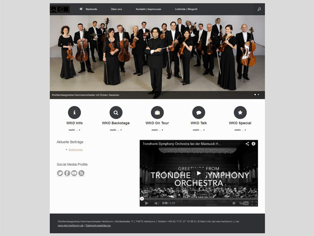 Blog Württembergisches Kammerorchester Heilbronn